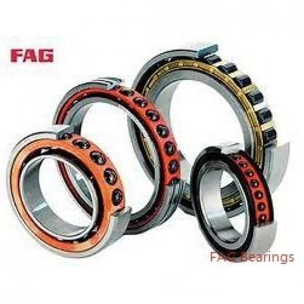 FAG 3206-BD-2Z-TVH-C3  Angular Contact Ball Bearings #2 image